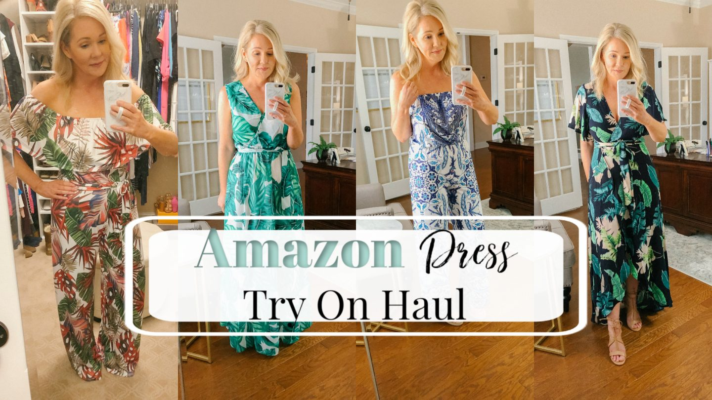 a588db82e081 I've gotten a lot of requests for affordable fashion from Amazon. So I  recently did an Amazon Spring Dress Try On Haul on my YouTube channel.