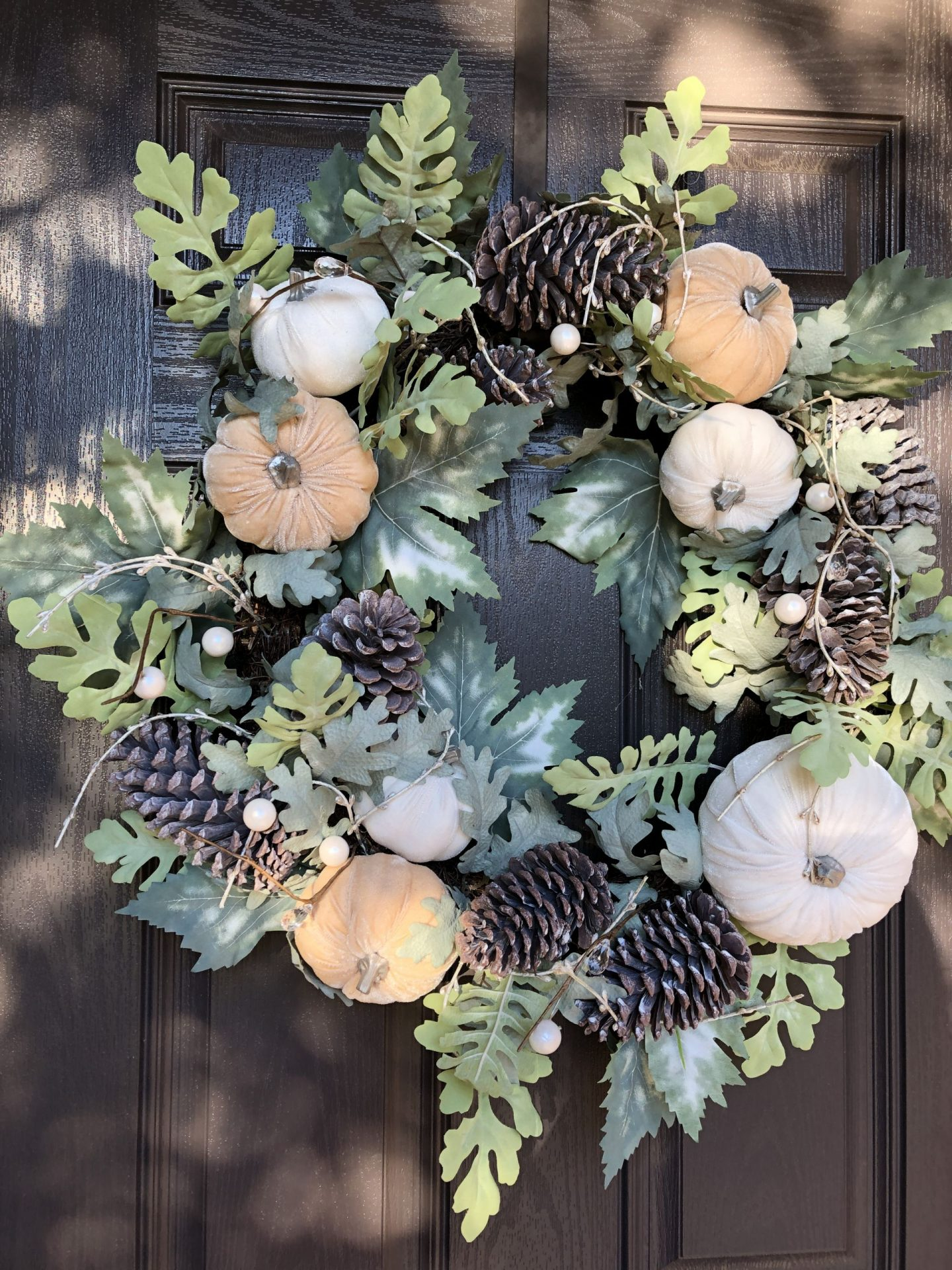 fall wreath MissCrystal