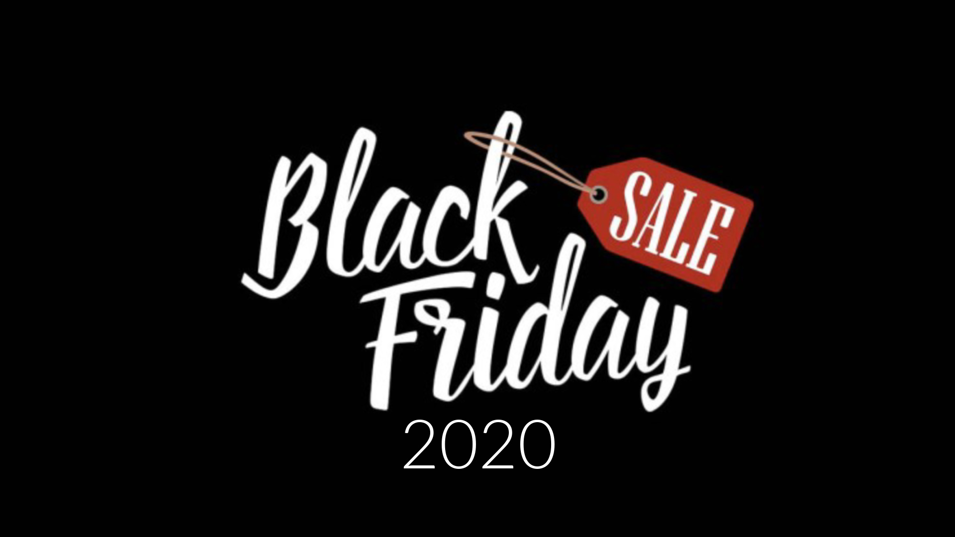 Black Friday 2020 sales misscrystal