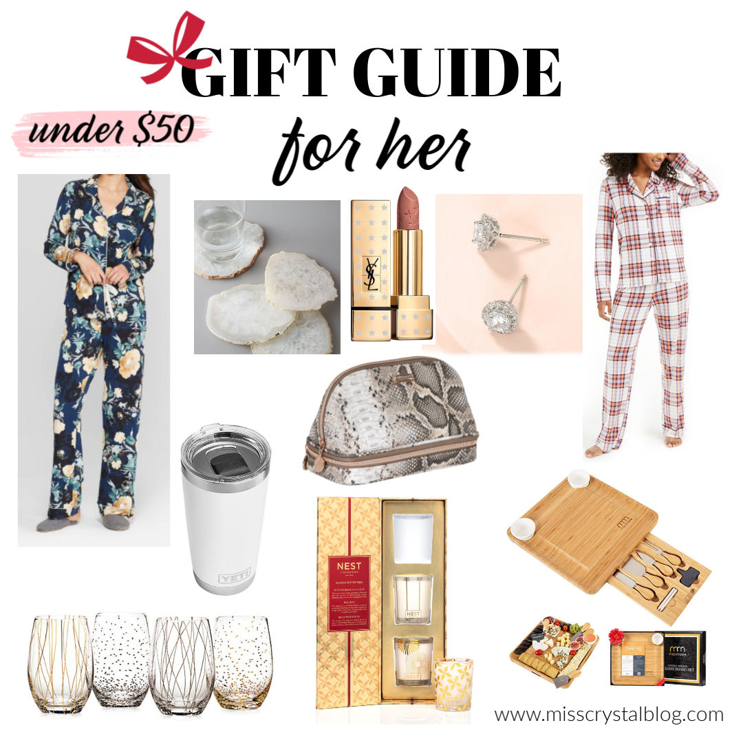 Christmas Gift Guide for Her Under 50 MissCrystalblog