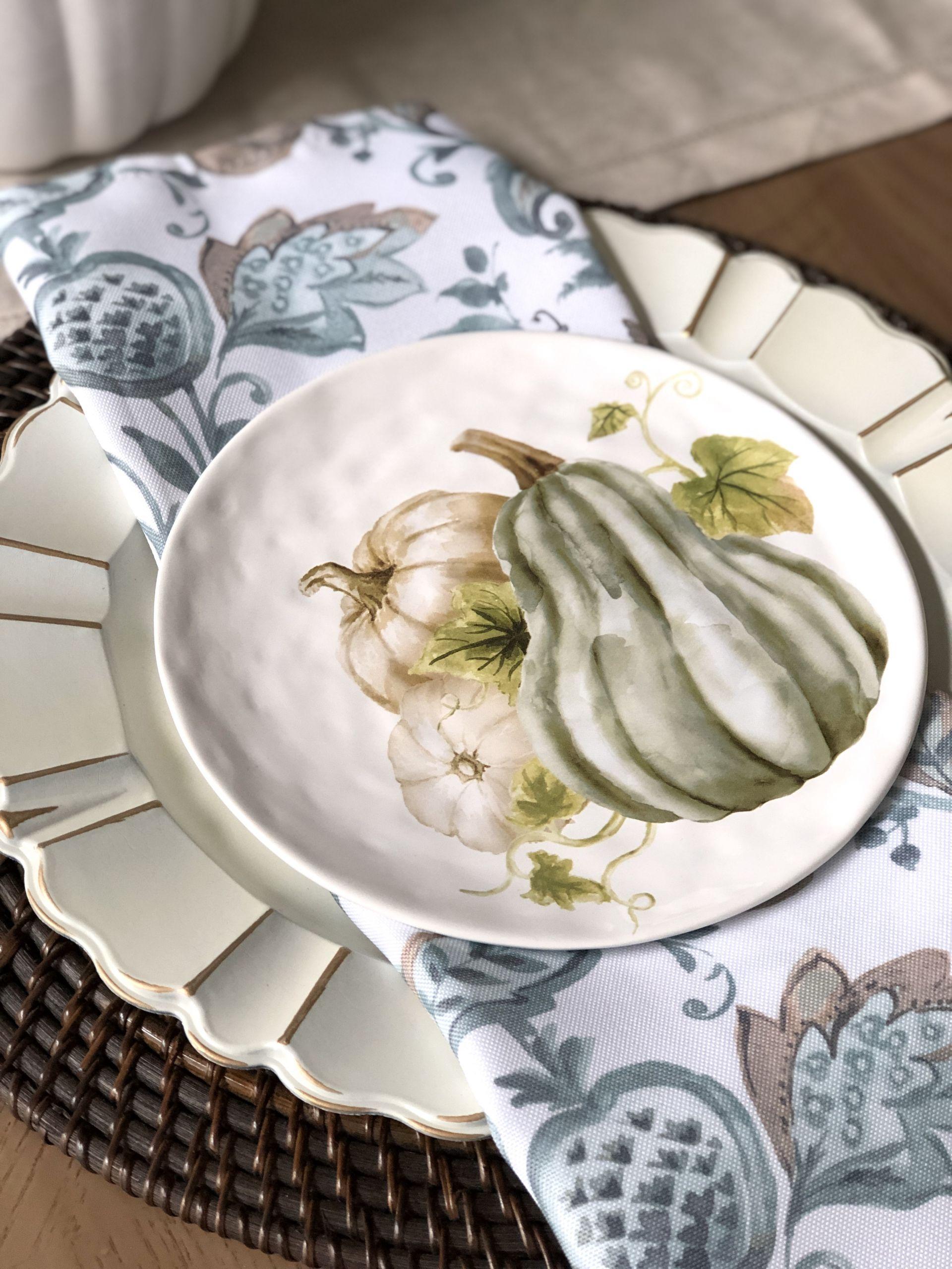 neutral thanksgiving plates misscrystal