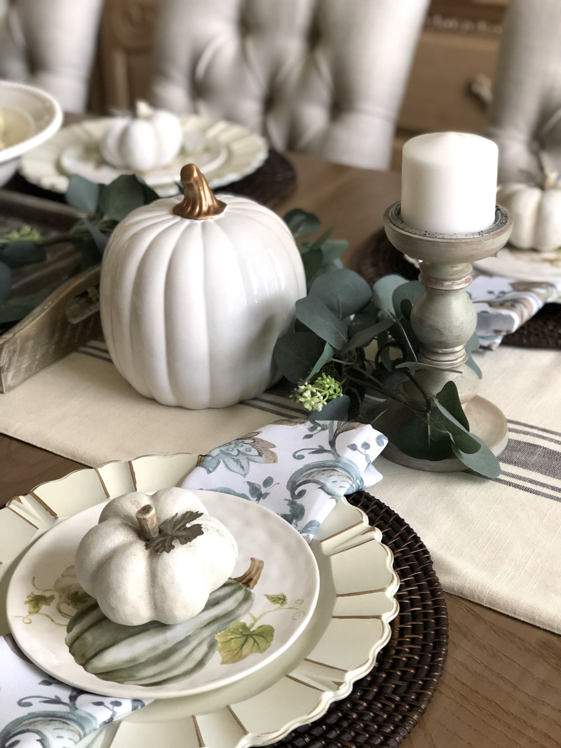 fall table decor misscrystalblog