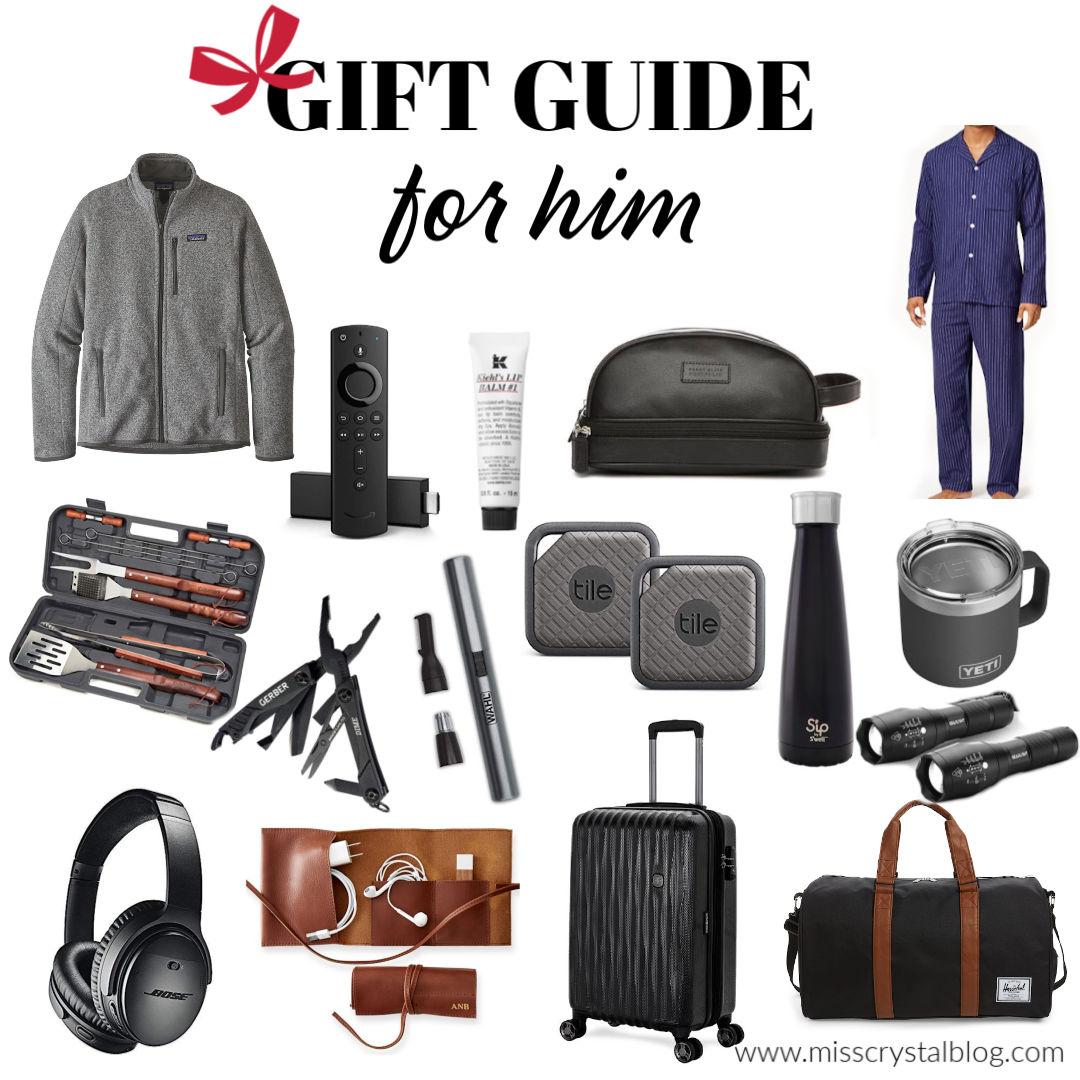 Men's Christmas Gift Guide MissCrystalBlog