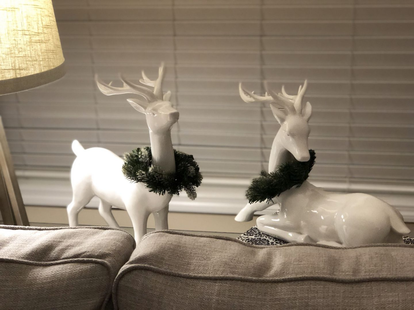 holiday white reindeer misscrystal