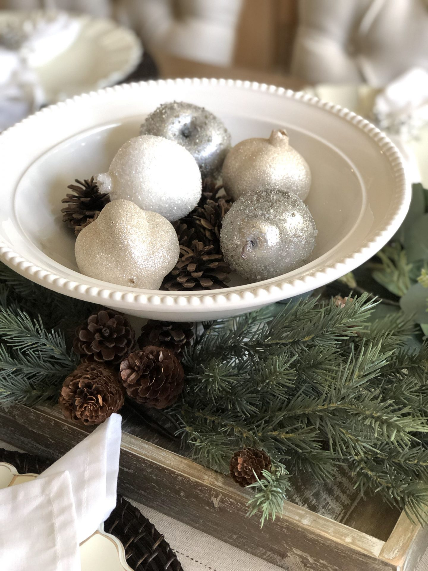 holiday dining centerpiece misscrystal