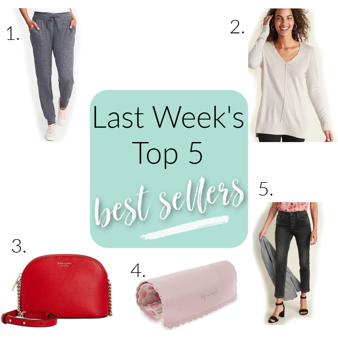 weekly top 5 best sellers misscrystal