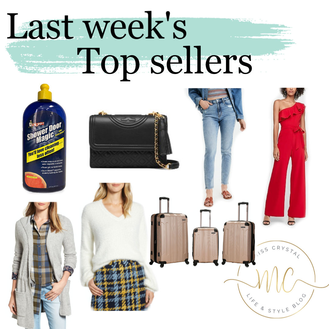 weekly top sellers misscrystal