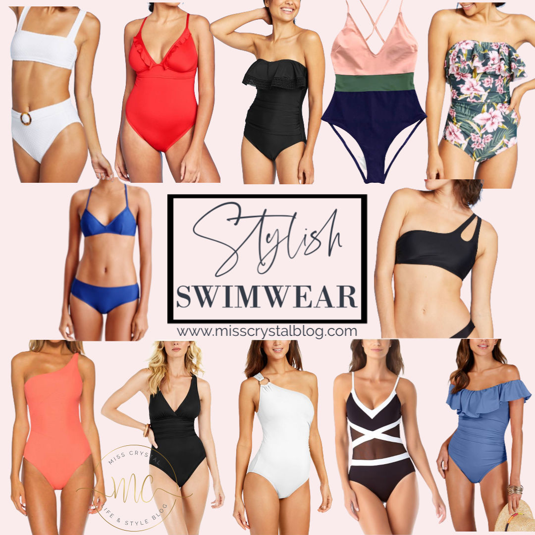 MissCrystal Stylish Swimwear