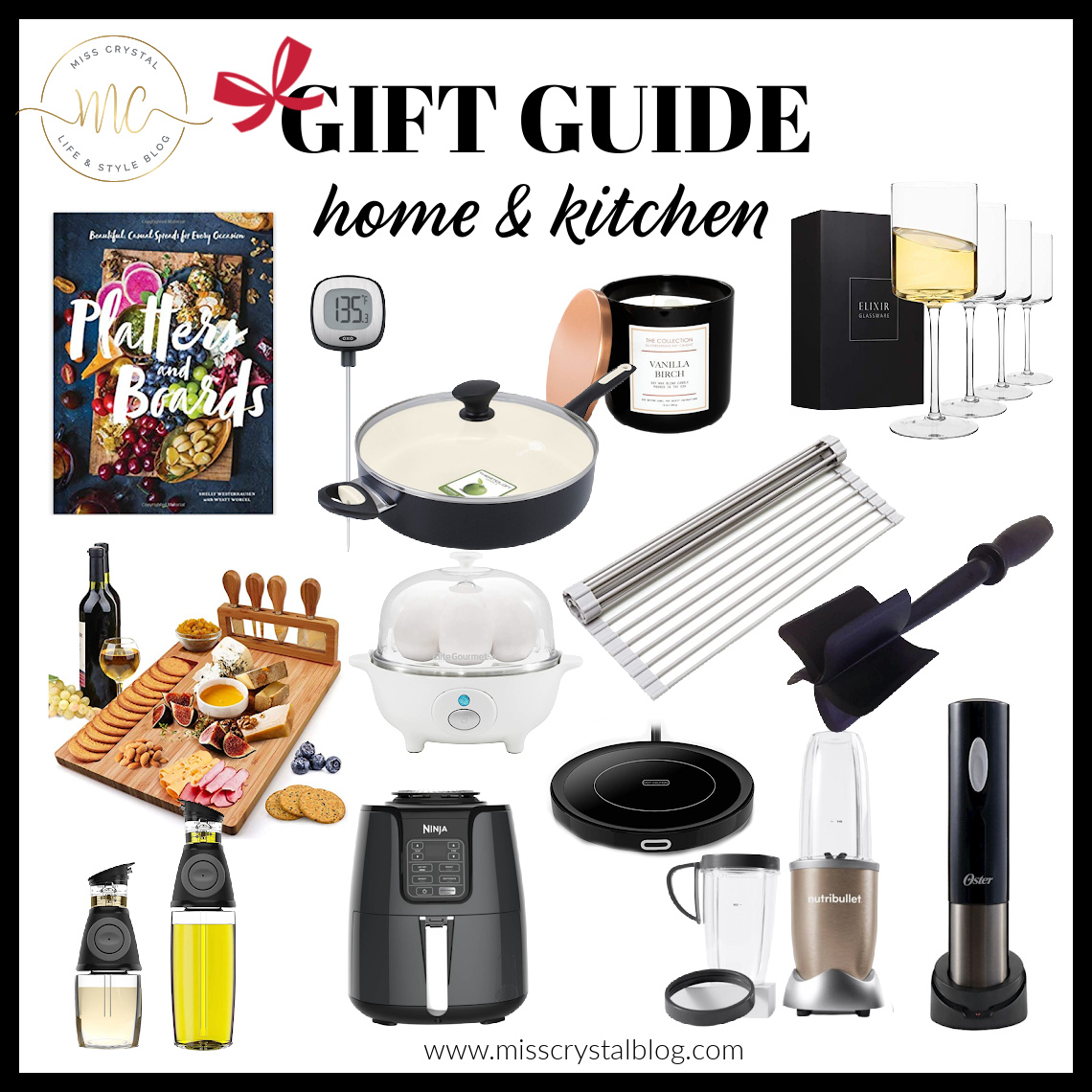 gift guide home kitchen misscrystal