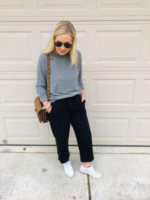 gray sweatshirt misscrystalblog