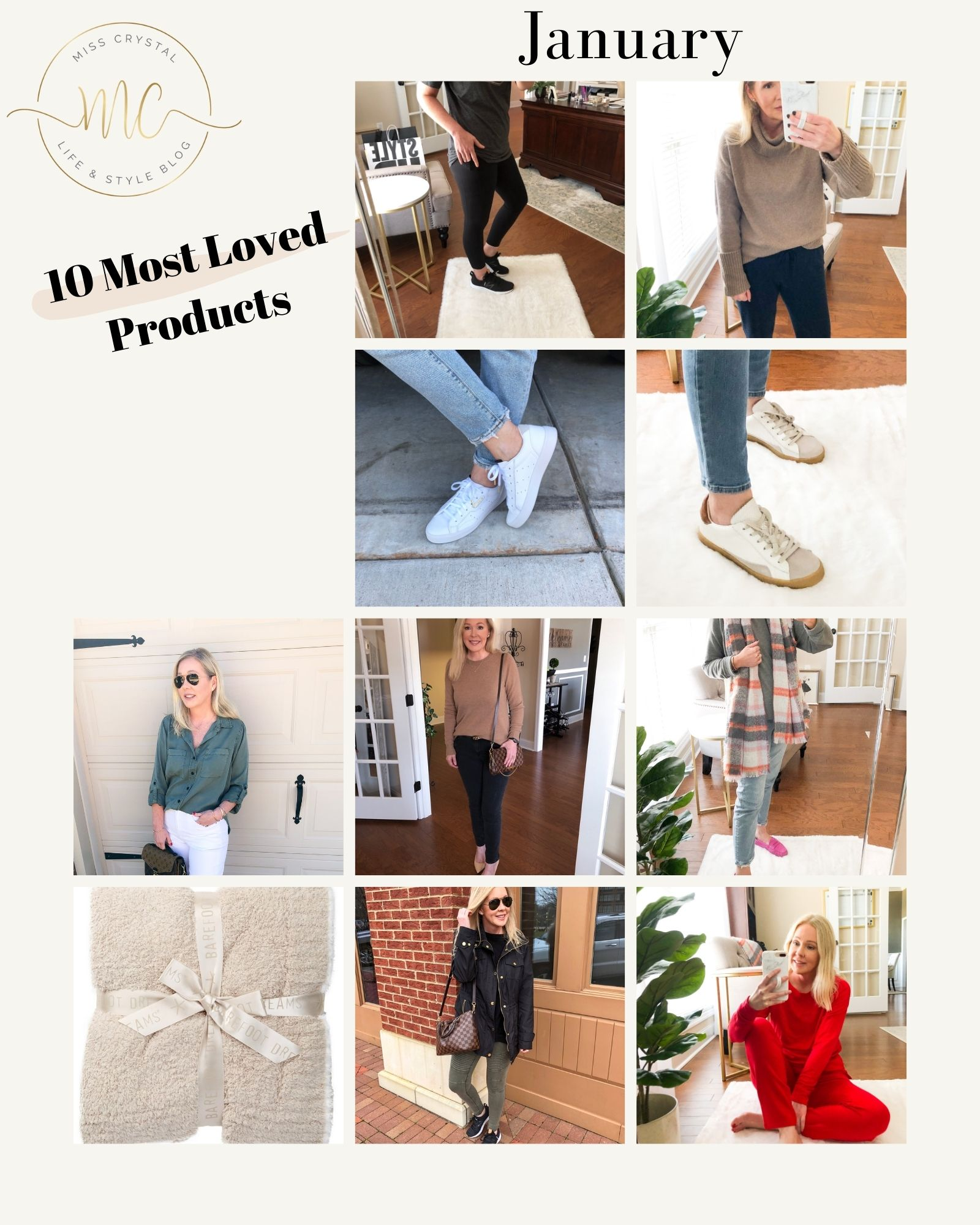 10 most loved products January misscrystalblog