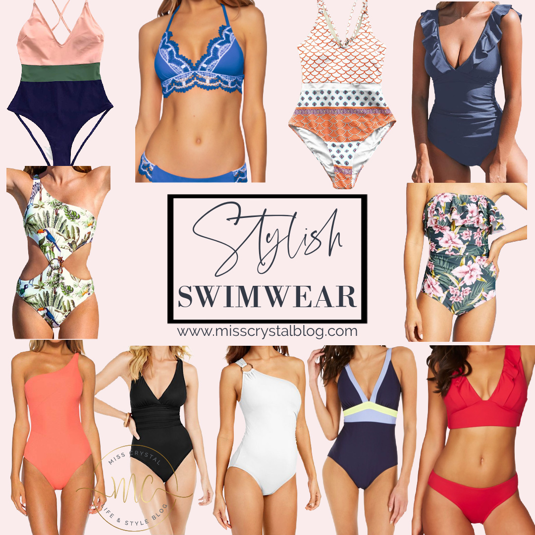 stylish swimwear misscrystalblog