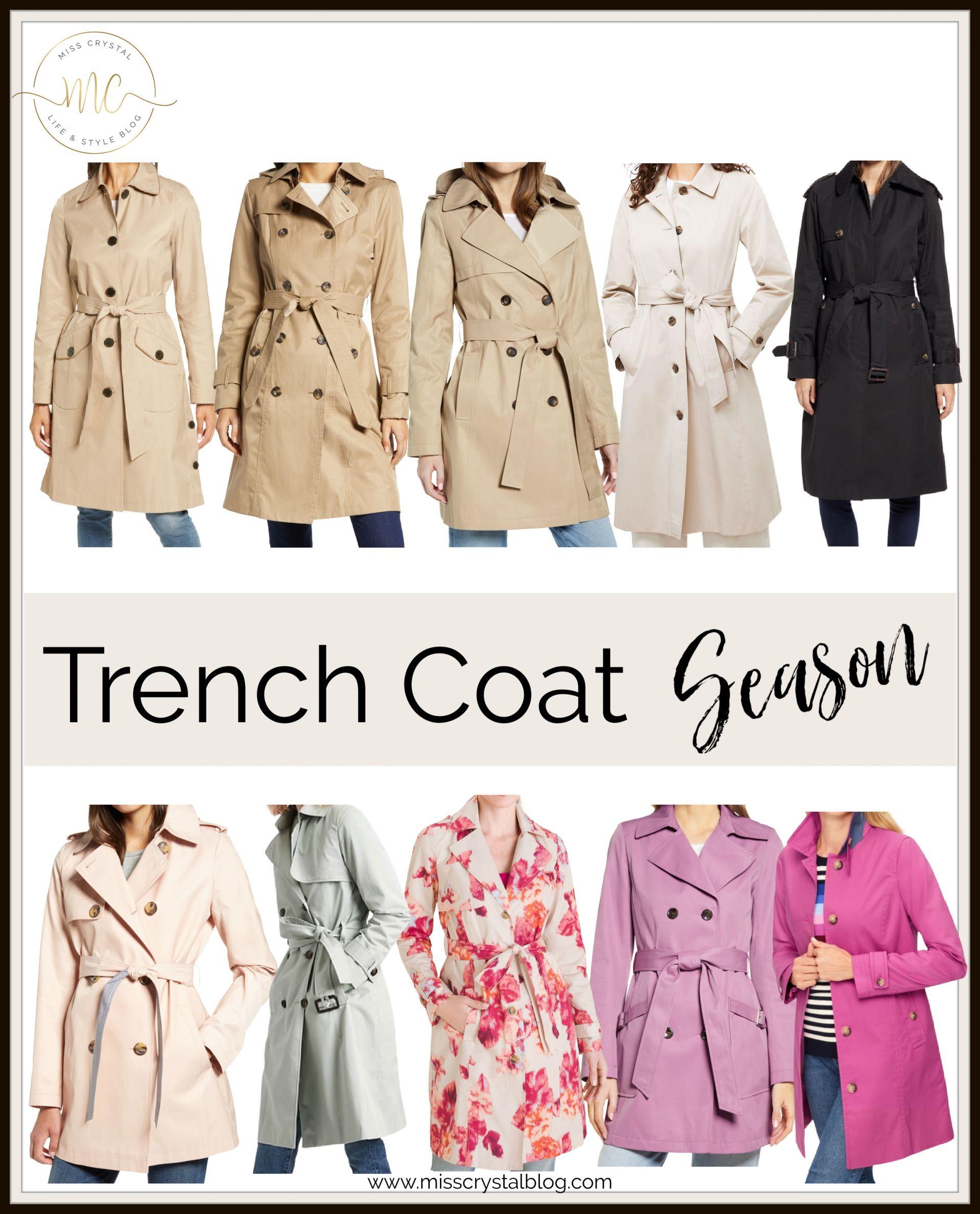 trench coats misscrystalblog