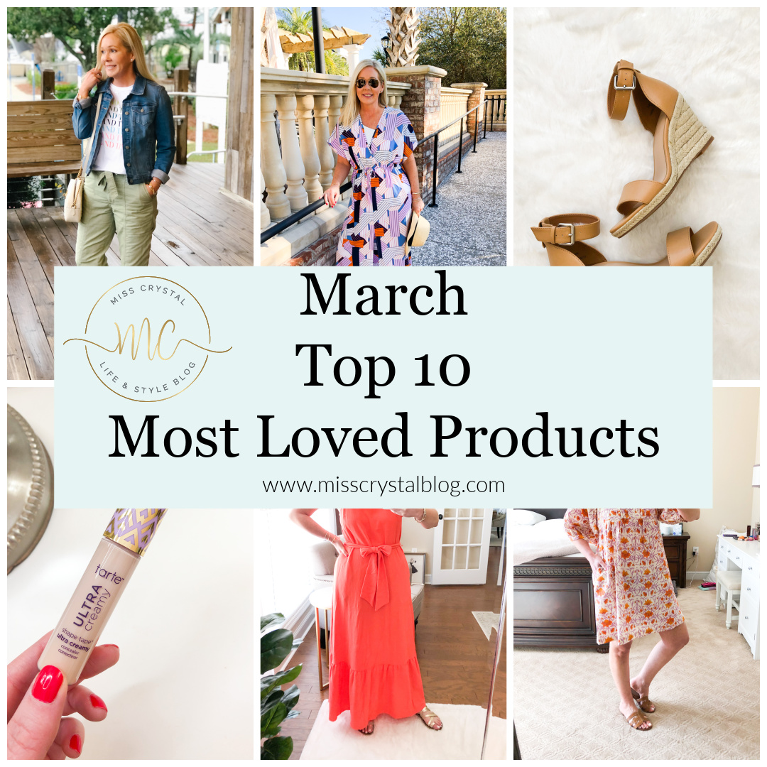 March top 10 misscrystalblog