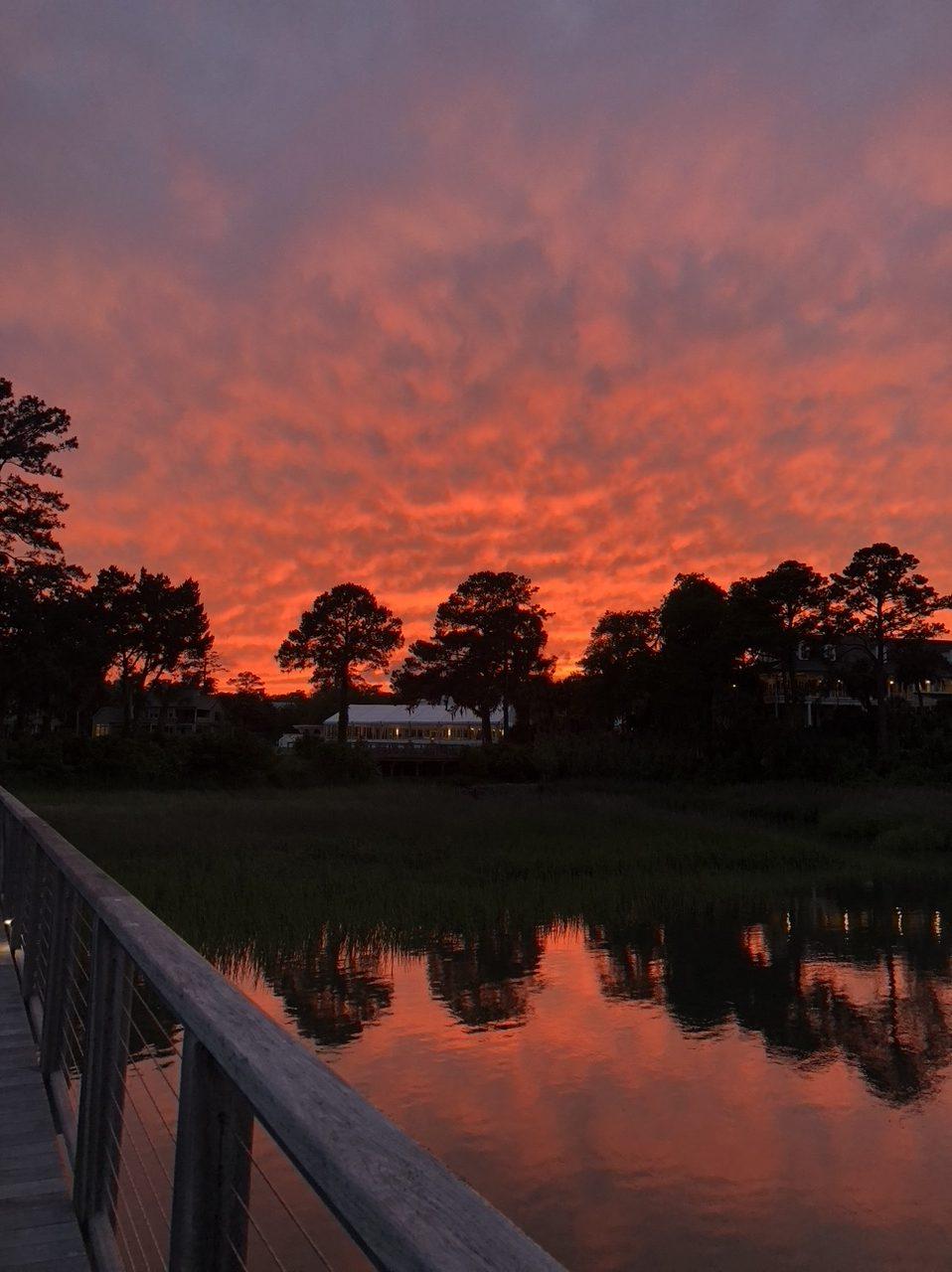sunset Palmetto Bluff misscrystalblog