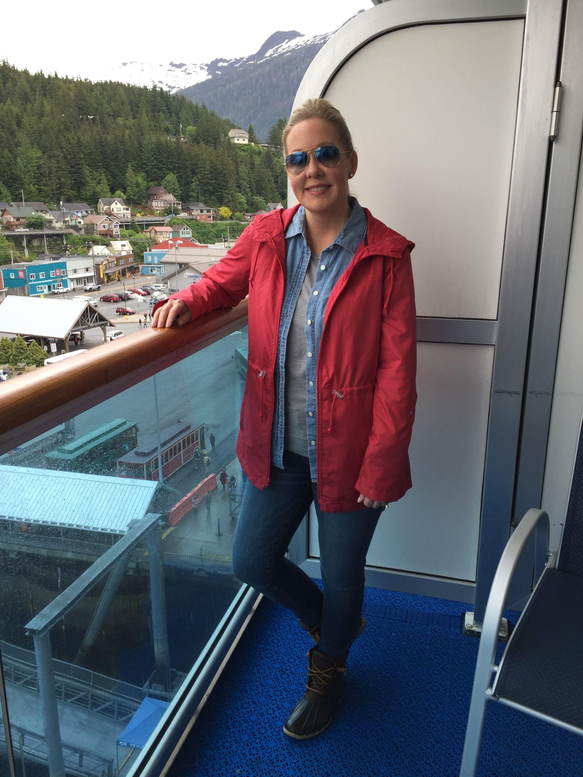 Alaska Cruise wear misscrystalblog