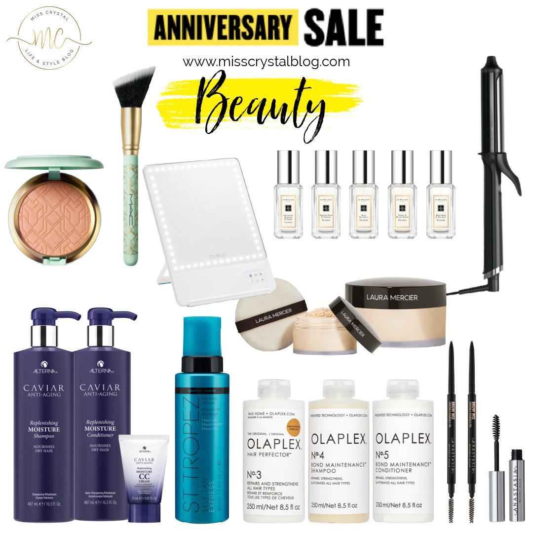 Nordstrom Anniversary Sale beauty misscrystalblog