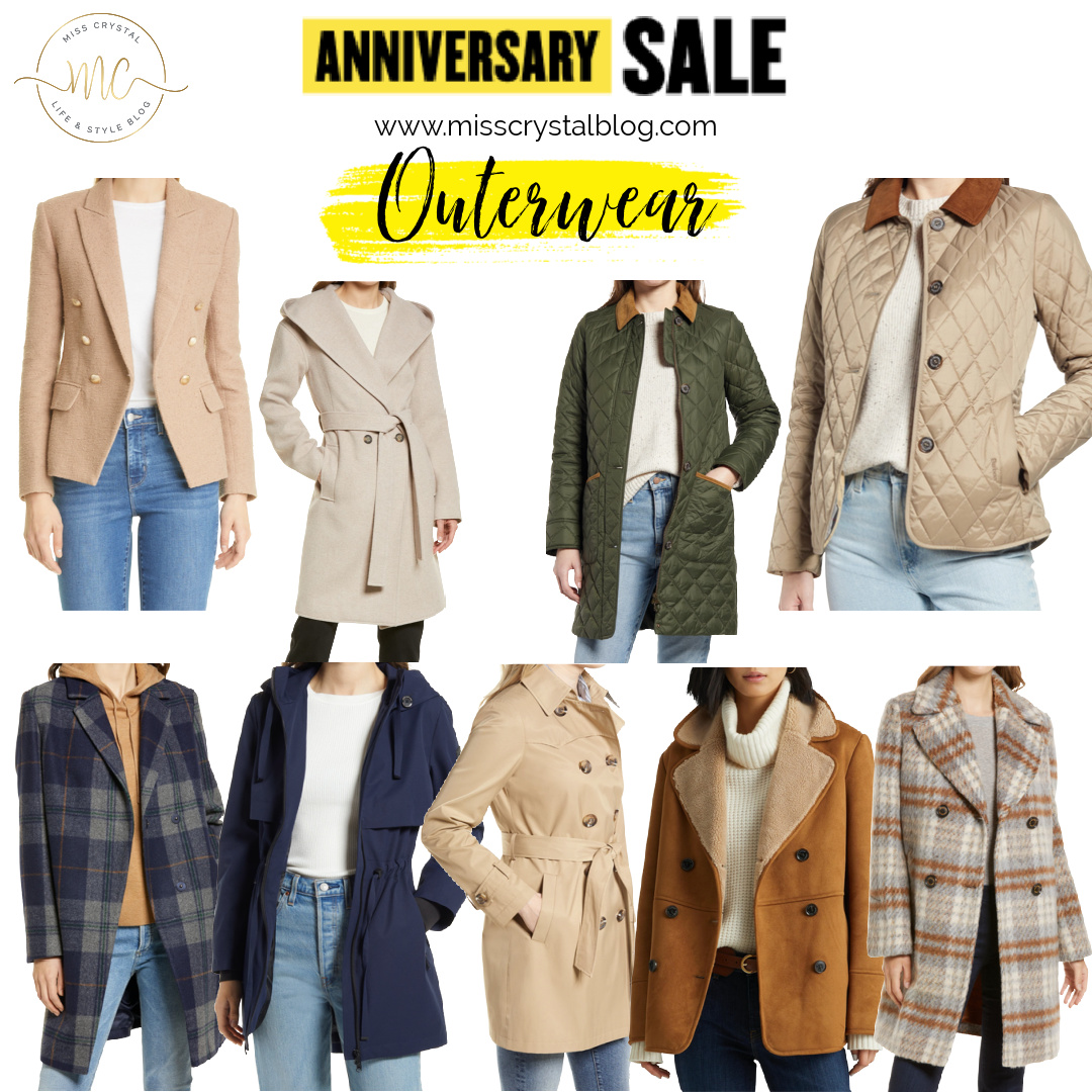 Nordstrom Anniversary Sale Outerwear misscrystalblog